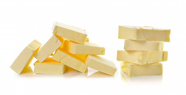 Manteiga isolada