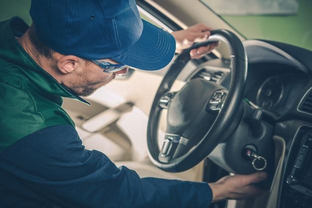 Manutenção de recuperação de carro