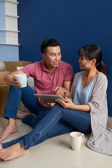 Manutenção do planejamento de casal