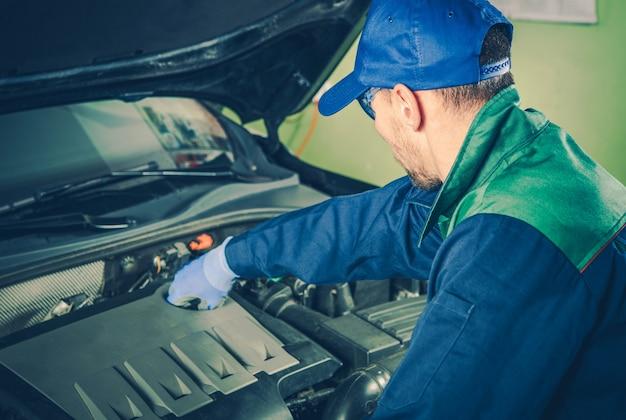 Manutenção do serviço de veículos