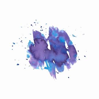 Mão abstrata extraídas fundo aquarela. textura grunge para design de cartões e folhetos