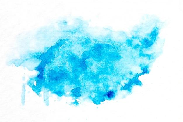 Mão abstrata extraídas fundo aquarela.