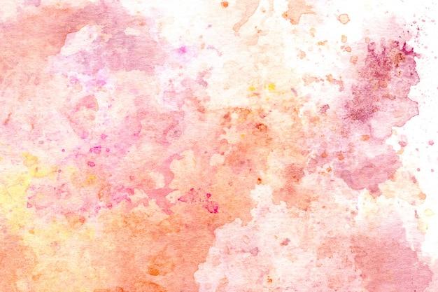 Mão de aquarela pintada abstrato.