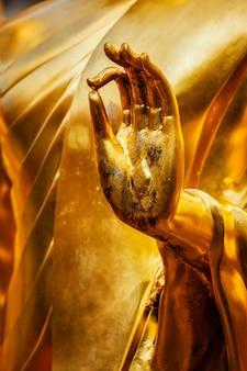 Mão de estátua de buda, chiang mai, tailândia