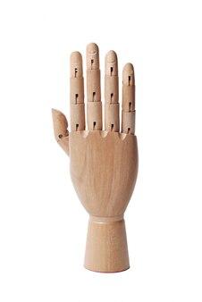 Mão de madeira