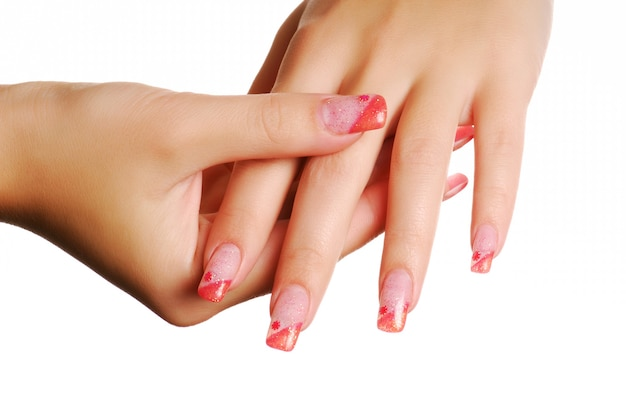 Mão de mulher