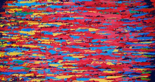 Mão de textura colorida desenhada tinta a óleo.