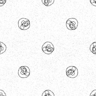 Mão desenhada flocos de neve sem costura padrão de natal. flocos de neve voando sutis em flocos de neve de giz fundo. divertida sobreposição de neve desenhada à mão de giz. decoração elegante da temporada de férias.