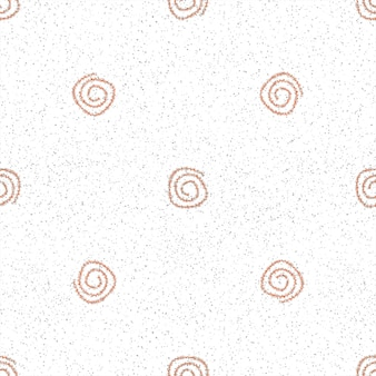 Mão desenhada flocos de neve sem costura padrão de natal. flocos de neve voando sutis em flocos de neve de giz fundo. sobreposição de neve handdrawn giz artístico. decoração sublime de temporada de férias.