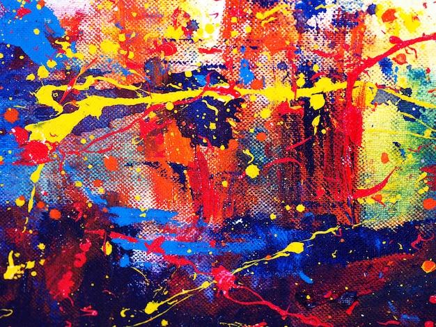 Mão desenhar aquarela colorida pintura abstrato com textura.