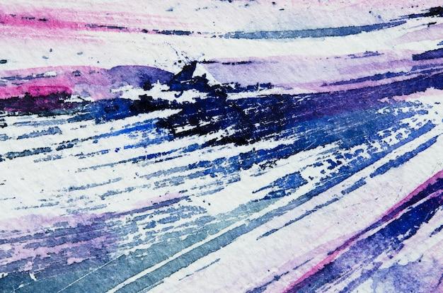Mão em aquarela abstrata pintura textura.