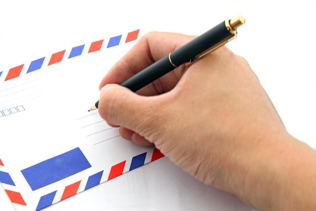 Mão, envelope
