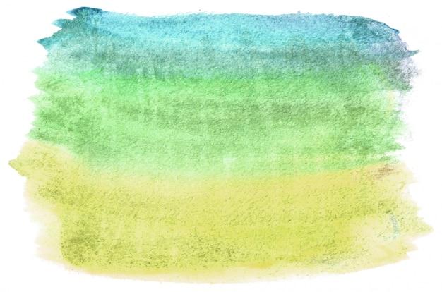 Mão-extraídas forma aquarela em tons quentes para seu projeto. fundo pintado criativo, decoração feita à mão