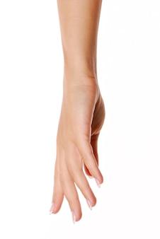 Mão feminina