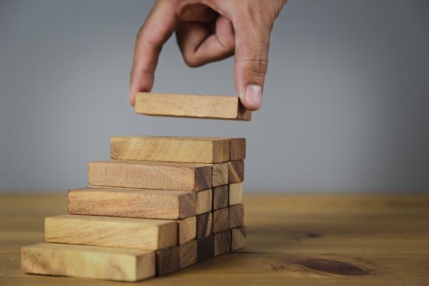 Mão mais perto mãos de empresários
