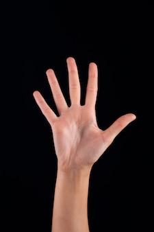 Mão mulher