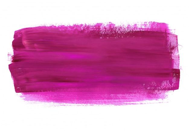 Mão roxa pintada abstrato