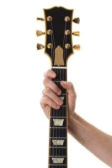 Mão segurando um braço de baixo isolado