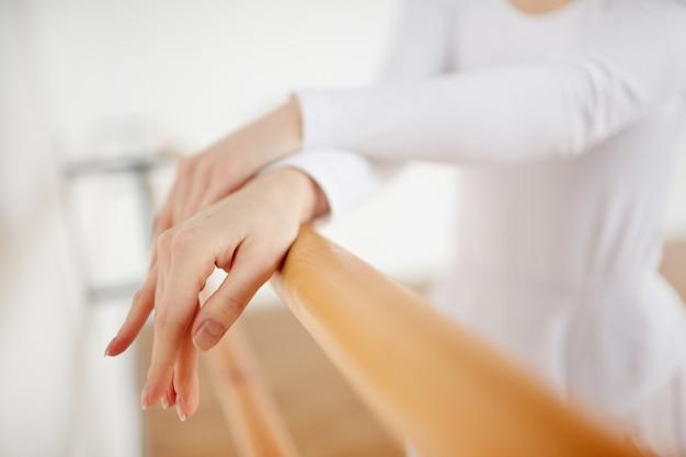Mãos de bailarina
