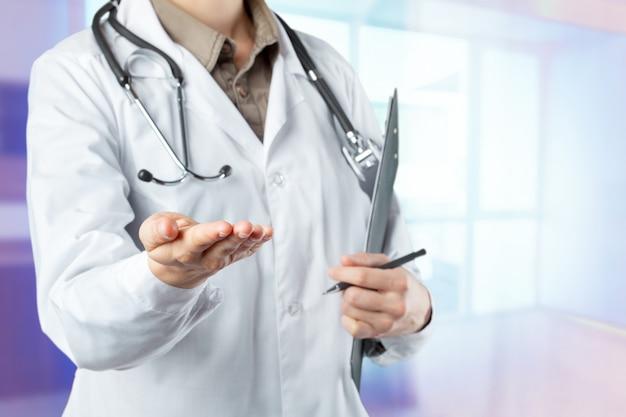 Mãos, de, médico