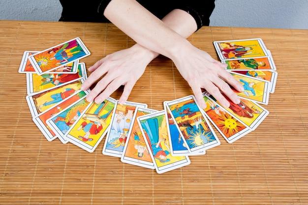 Mãos de uma vidente