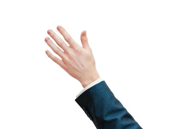 Mãos isoladas