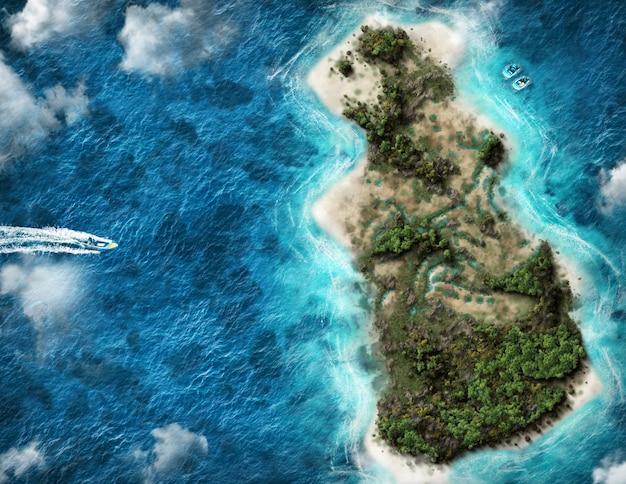 Mapa 3d do sri lanka