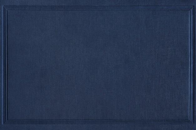 Maquete da capa do livro azul marinho