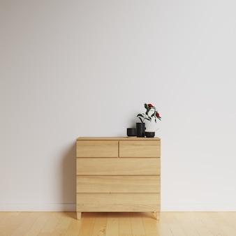 Maquete de galeria de parede interior