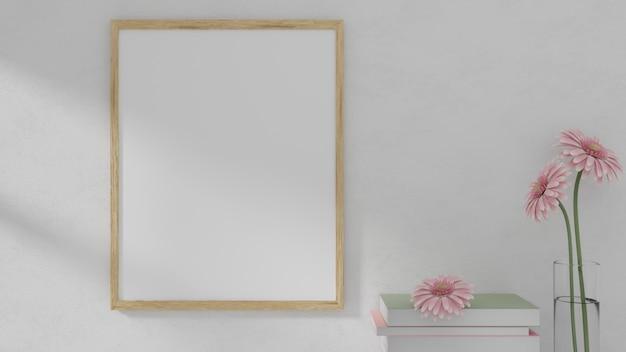 Maquete de quadro na parede