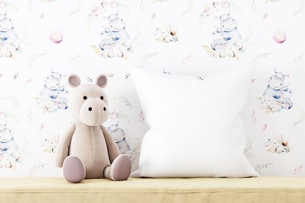 Maquete de travesseiro infantil 5731