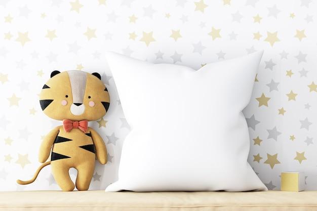 Maquete de travesseiro infantil 908