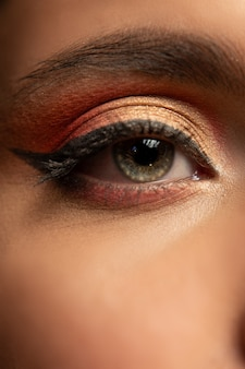Maquiagem dos olhos de beleza