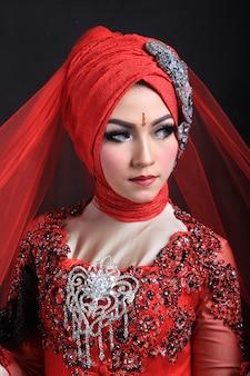 Maquiagem muçulmana e casamento fashion