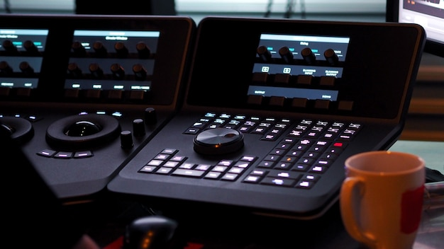Máquina controladora telecine para edição ou ajuste de cor em filme ou filme digital