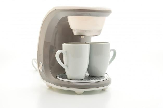 Máquina de café isolada