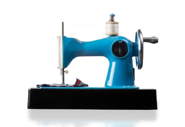 Máquina de costura com isolado