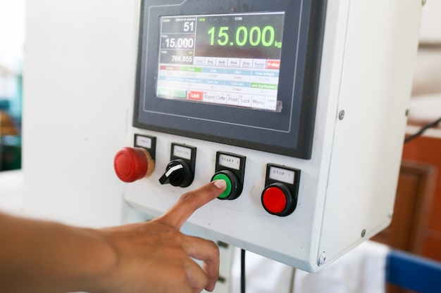 Máquina de embalagem de arroz, enchimento de arroz, peso e máquina de embalagem.