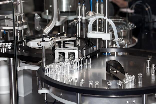 Máquina de enchimento e selagem de ampola, equipamento para indústria farmacêutica