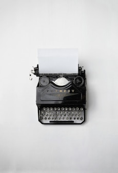 Máquina de escrever clássica