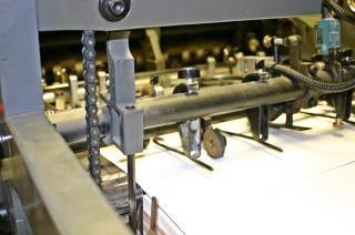 Máquina de impressão offset, folha