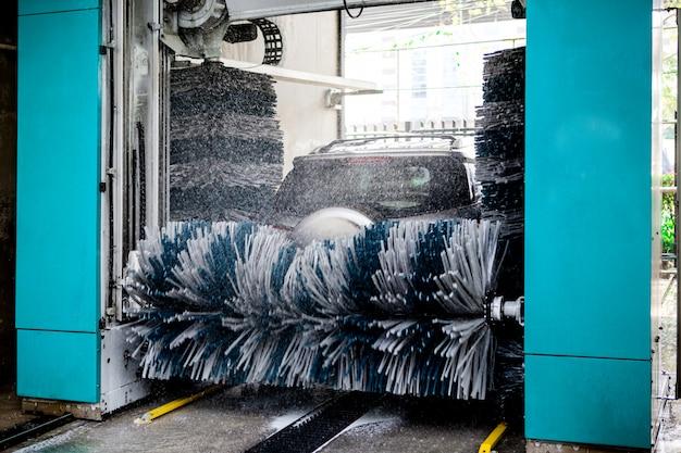 Máquina de lavar automática do carro