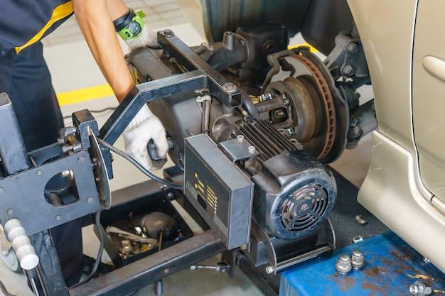 Máquina de moagem de disco de freio
