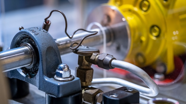 Máquina de motor industrial