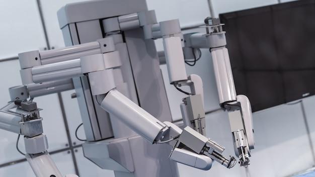Máquina de robótica industrial