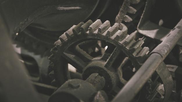 Máquina industrial da engrenagem do barco