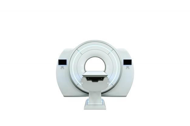 Máquina moderna de ressonância magnética em uma sala
