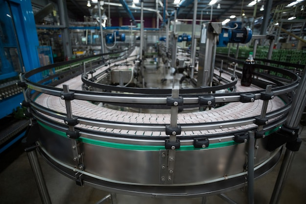 Maquinaria e linha de produção
