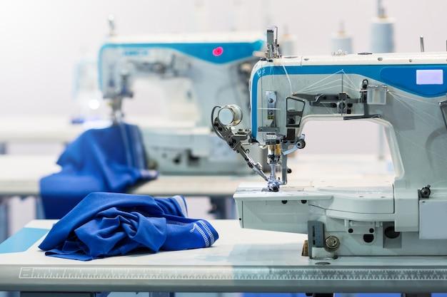 Máquinas de costura, ninguém, indústria de tecidos