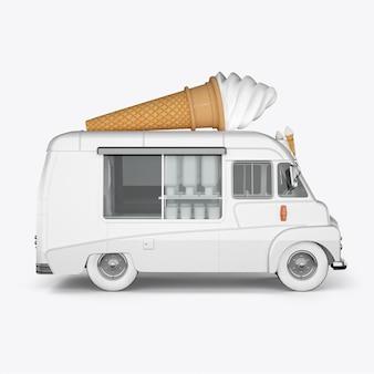 Máquinas de renderização 3d para sorvete